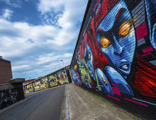 Wat te doen in Antwerpen - Streetart Zomerfabriek