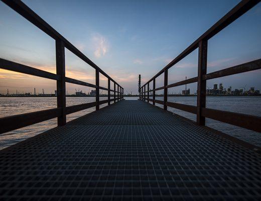 Haven van Antwerpen - Steiger linkeroever