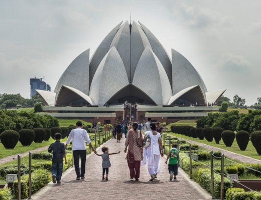 Bezienswaardigheden New Delhi - Lotus Temple
