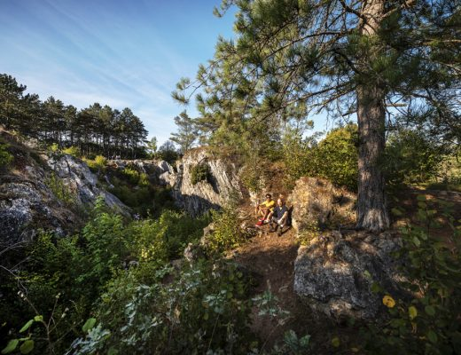Kamperen in Viroinval - Fondry des Chiens Nismes panorama Jonathan Ramael